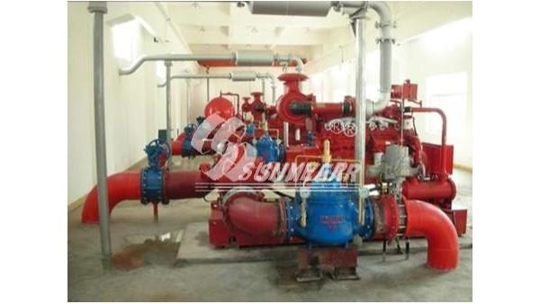智能柴油机水泵组及恒扬程/止回阀在泰山石化油库中应用