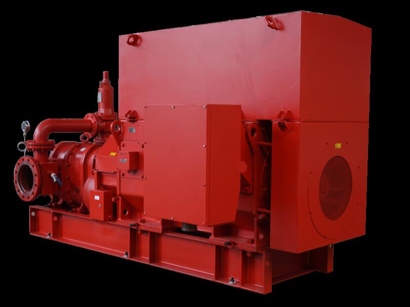 电动机供泡沫液消防泵组