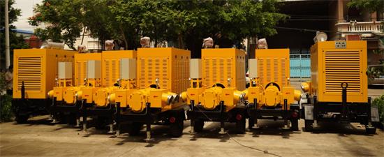 排水拖车泵