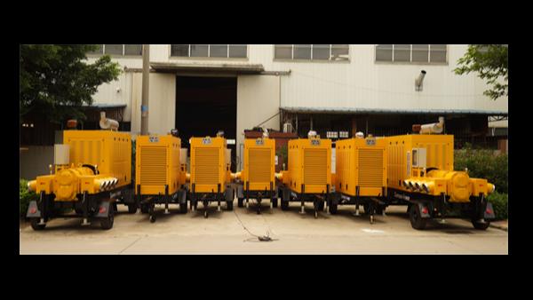 阳江水务局验收我司排水拖车