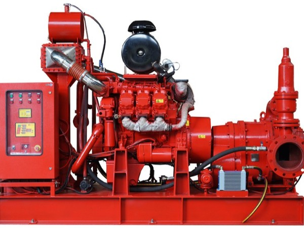 柴油机供泡沫液消防泵组
