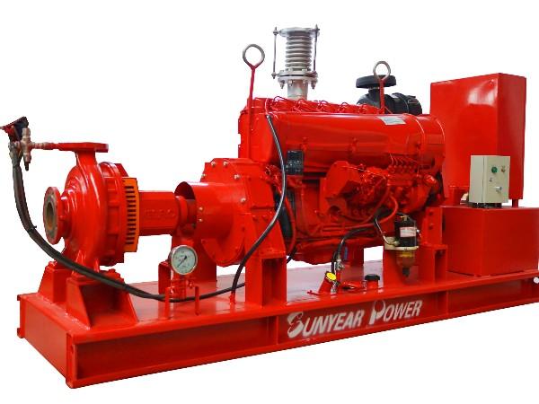 柴油机消防泵组—单级单吸离心泵(端吸泵)