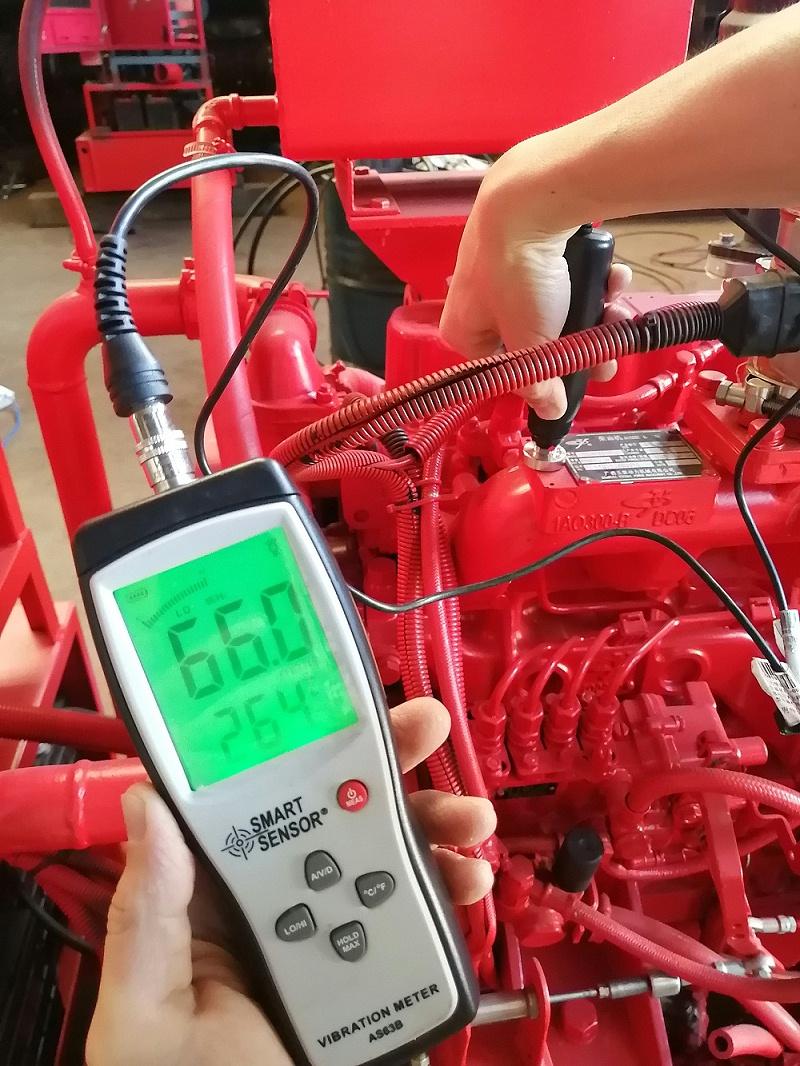柴油机水泵组测试