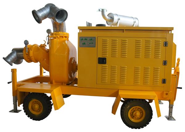 自吸式移动泵车