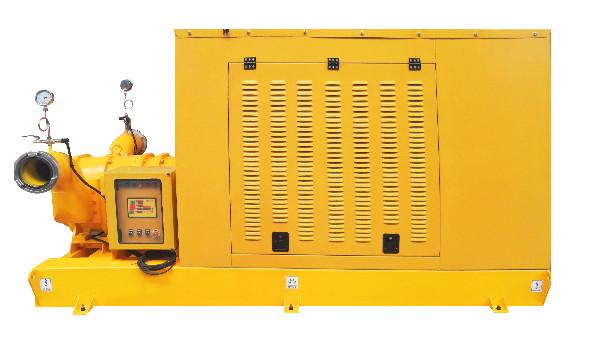 高扬程柴油机抽水泵组正式下线