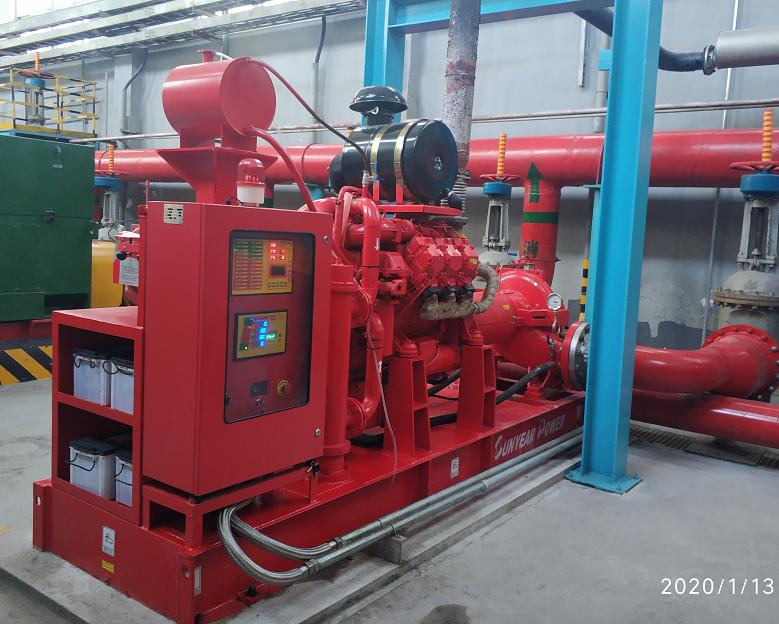 北元化工柴油机消防泵