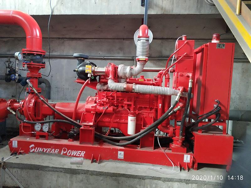 锦源化工分厂柴油机消防泵
