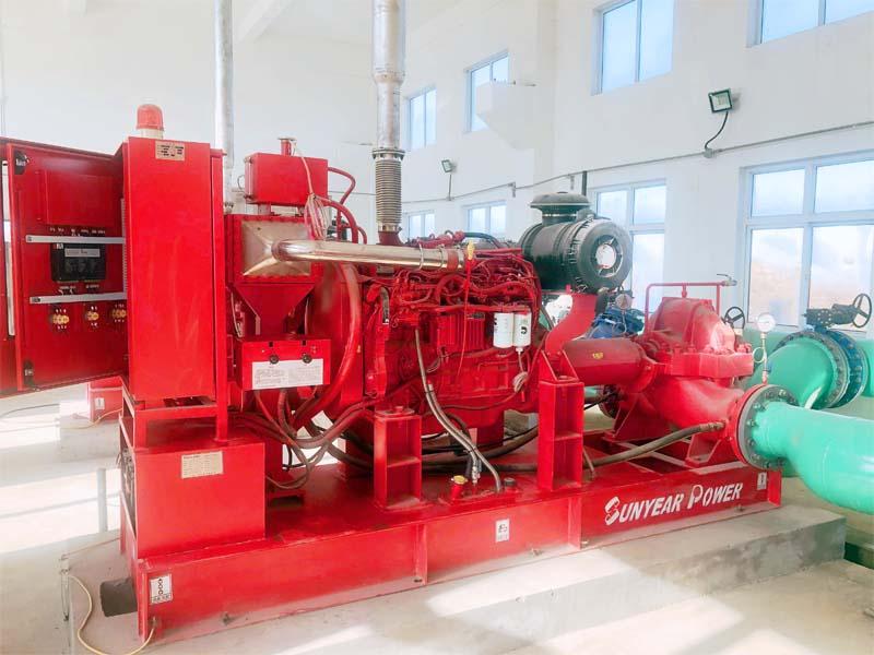 消防柴油机泵组