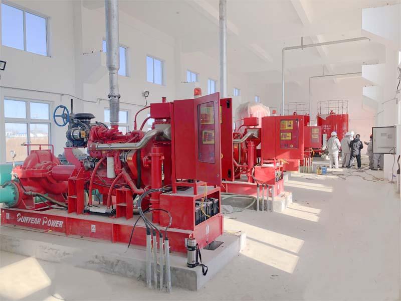 柴油发动机消防泵组