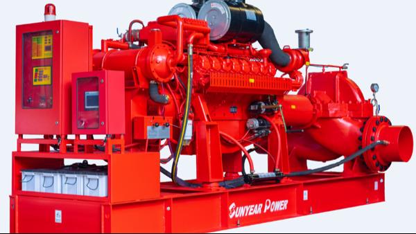世界上最大柴油机消防泵交付客户