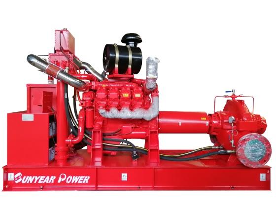 柴油发动机消防泵