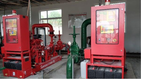 柴油机消防泵应用于扬州泰州国际机场油库