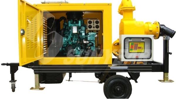 移动式抽水泵车在广东三防项目中应用