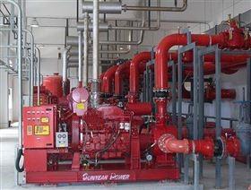 柴油机消防泵泵房