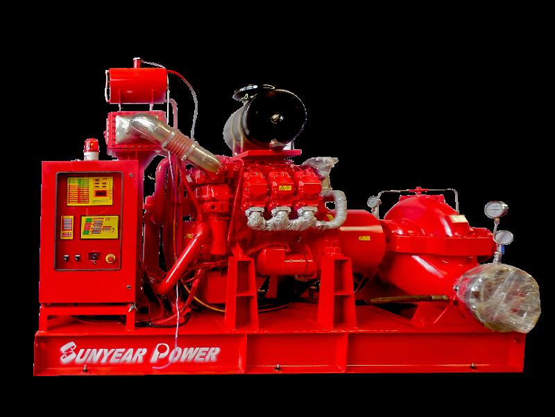 数字定压柴油机消防泵