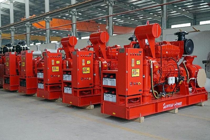 广州三业数字定压柴油机消防泵