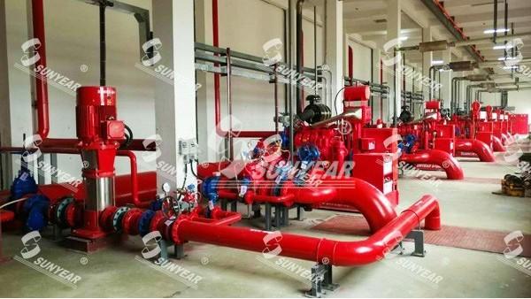白云机库柴油机消防泵