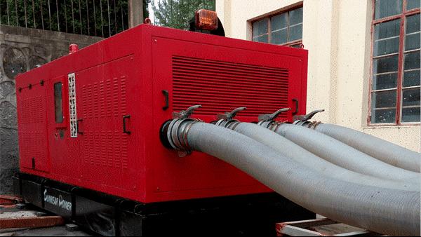 三业科技大流量箱式防汛排涝泵站应用光伏发电项目