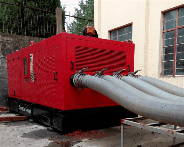 大型排涝泵站