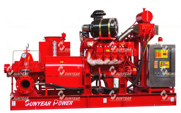 柴油机消防泵组-XBC12/260