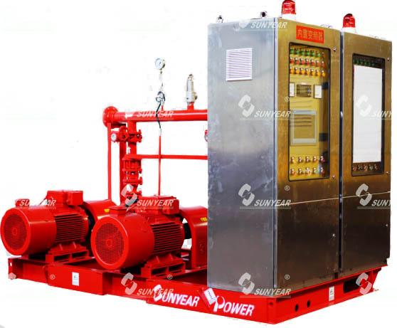 带巡检系统的变频消防自动恒压给水设备