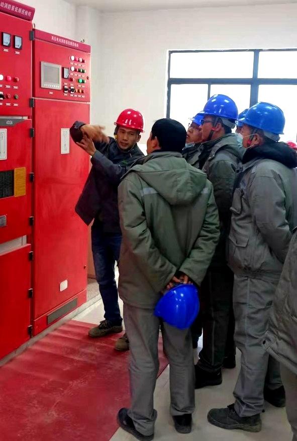 高压电动消防泵控制柜