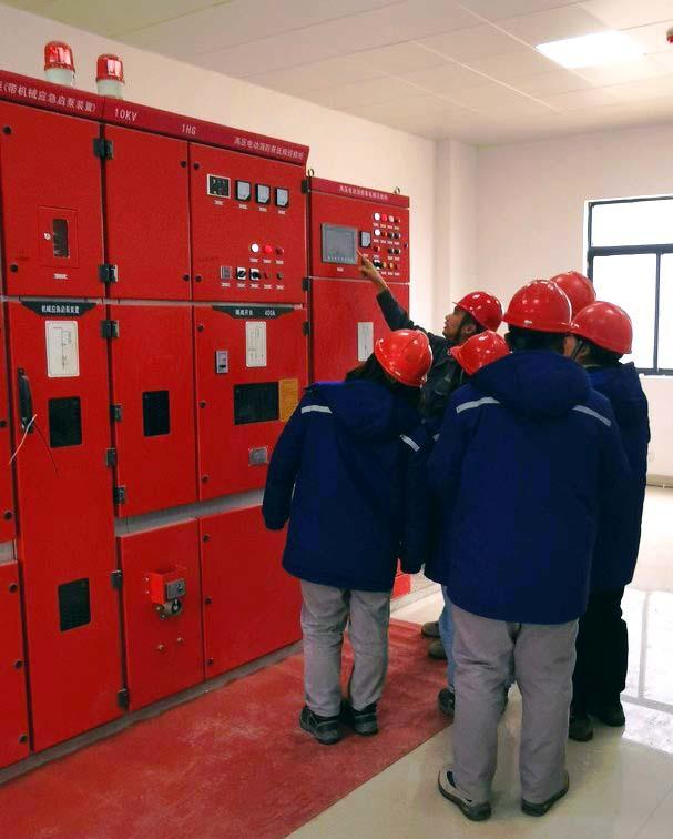 高压电动消防泵组合控制柜讲解