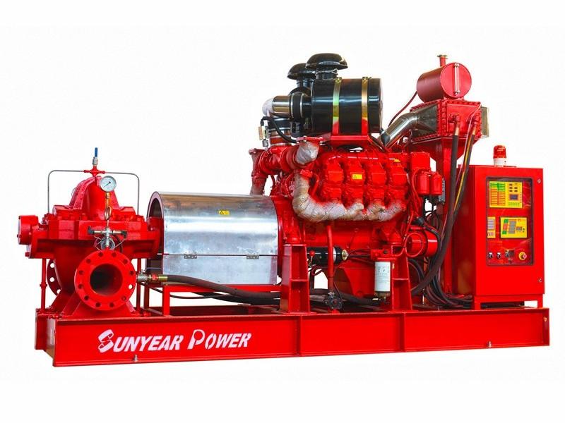柴油机消防泵组—单级双吸离心泵(中开泵)