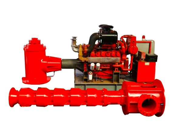 柴油机消防泵组—深井长轴泵