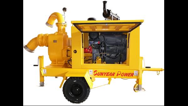 拖挂式移动泵车型号