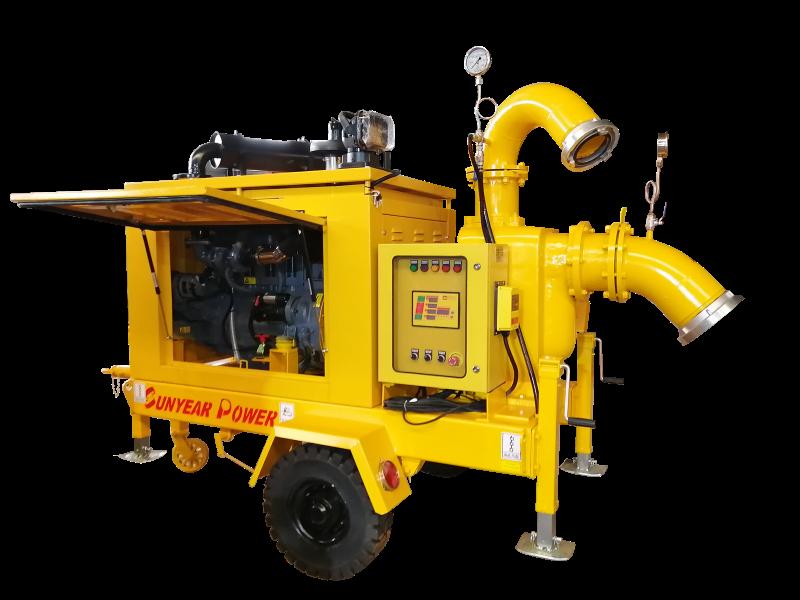 拖挂式泵车厂家