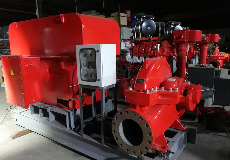 高压电动机消防泵组