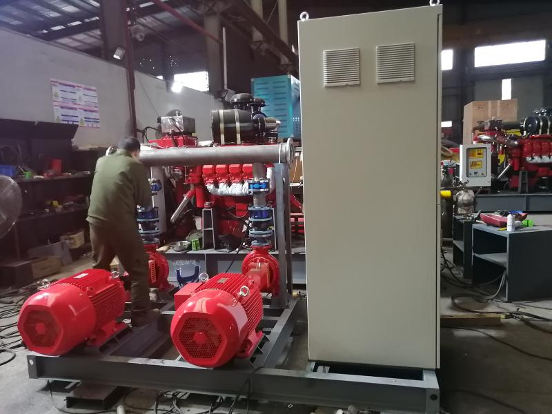 自动恒压给水设备管道安装