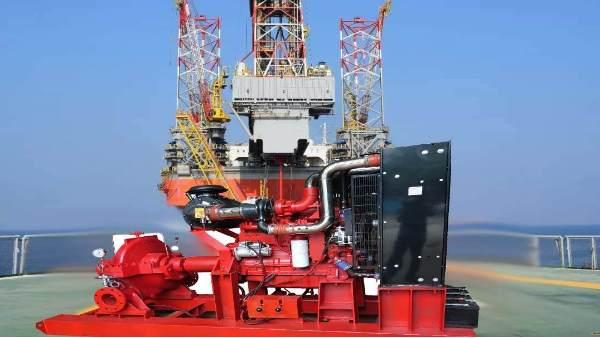 三业科技柴油机消防泵成功应用于中海油海南东方项目