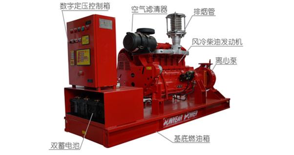 风冷柴油机消防泵