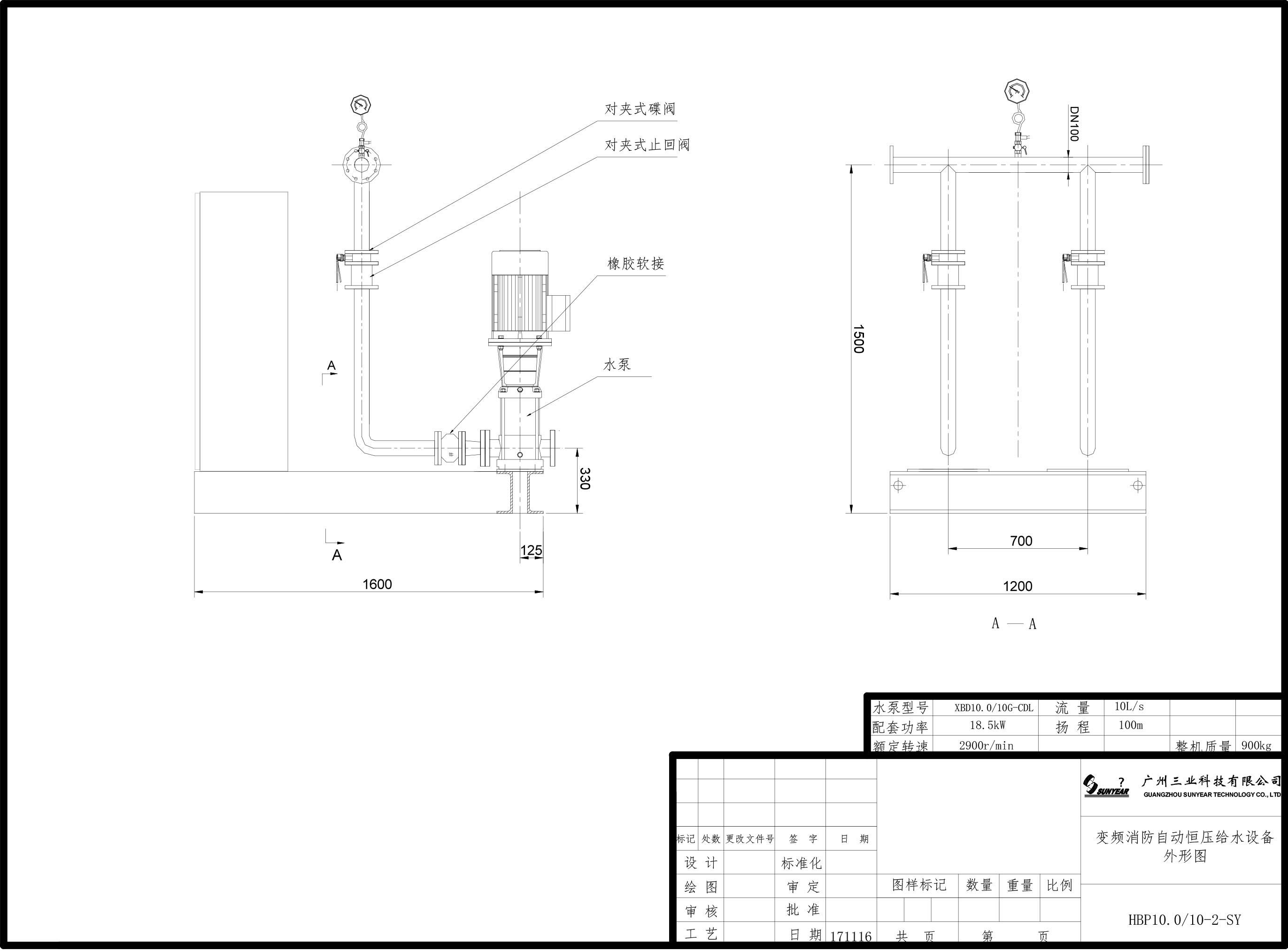变频消防自动恒压给水设备产品简介-11