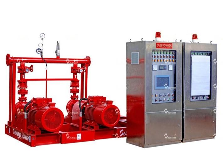 CCCF认证变频消防给水设备