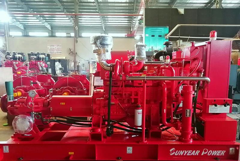 柴油机消防泵生产图