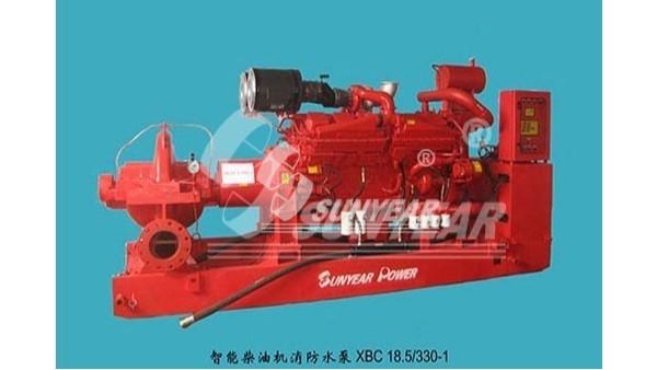 广州三业科技柴油机消防水泵在中缅油气管道项目应用