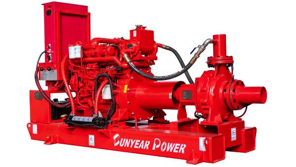 完成交货--柴油发动机消防泵组